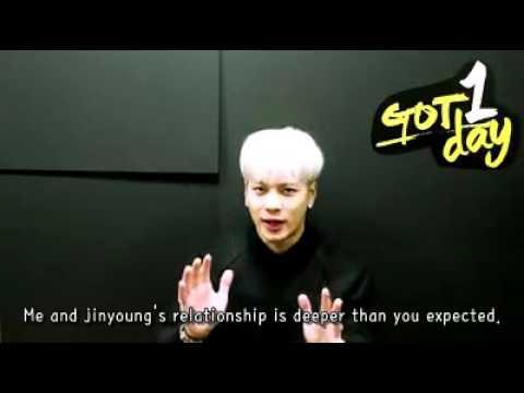 [ENG] 160224 GOT7 Jackson talked about Jinyoung (잭슨이랑 진영이 이야기)
