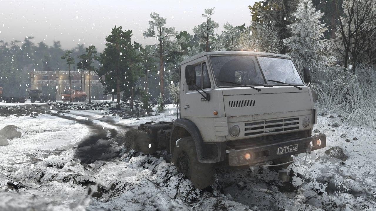 """Мод """"Первый снег"""" для 16.12.15 для Spintires - Скриншот 2"""