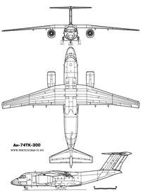 Чертежи, схемы, проекции советских транспортных и пассажирских самолетов.