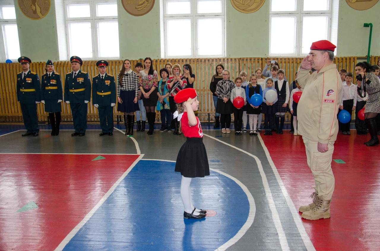 Ряды юнармейцев Щучанского района пополнились новыми активистами