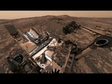 NASA's Curiosity Mars Rover on Vera Rubin Ridge (360 View)
