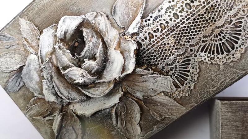 МК с пастой для структурной (скульптурной) живописи PASTA SCULTURA от Донателла Руссо