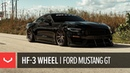 Vossen Hybrid Forged HF-3 Wheel | Ford Mustang GT