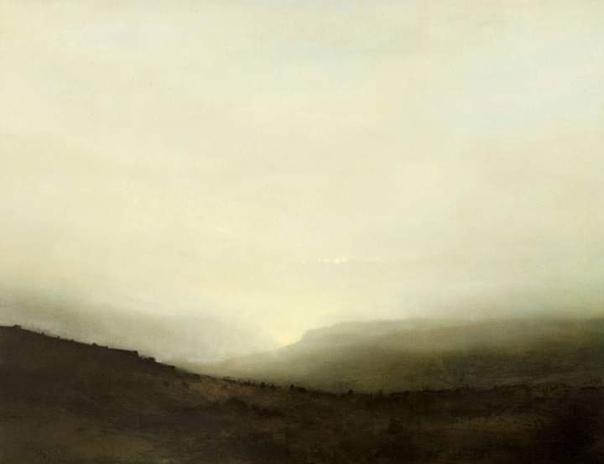 Ричард Уодкок, английский художник, пришёл в живопись из литографии. Его привычка втирать травильные пластины привела к похожему приёму в живописи. Особое влияние на творчество оказали Сай