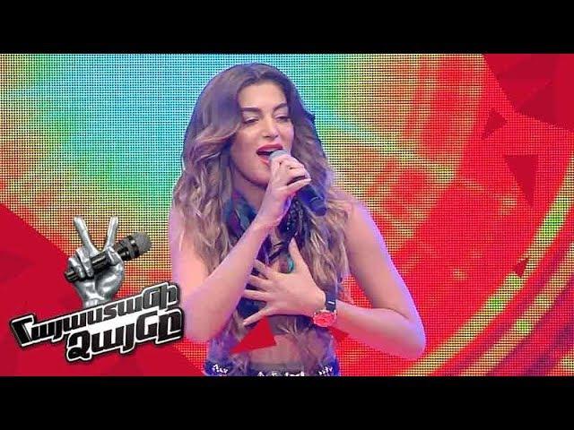 Iveta Mukuchyan sings 'Running' - Blind Auditions - The Voice of Armenia - Season 4