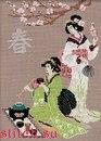 Расширенное описание для Набор для вышивки Весна (японские мотивы) .