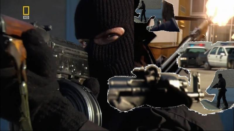 Самая жестокая перестрелка с полицией за всю историю HD перестрелка