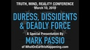 Mark Passio - Duress, Dissidents Deadly Force - YouTube