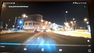Прямой наводкой в столб. Архангельск.