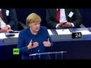 Merkel verteidigt Nord Stream 2 vor EU-Parlament