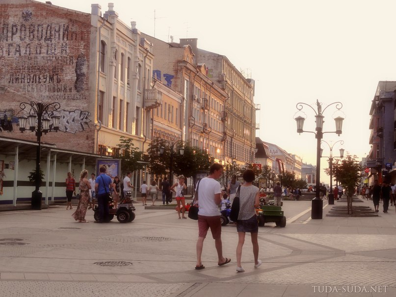 Пешеходная улица, Самара