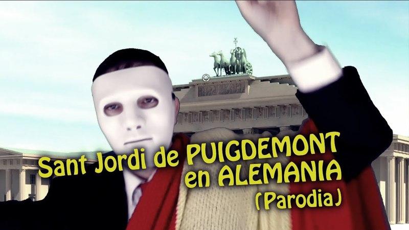 Puigdemont celebra Sant Jordi en Alemania (Parodia)