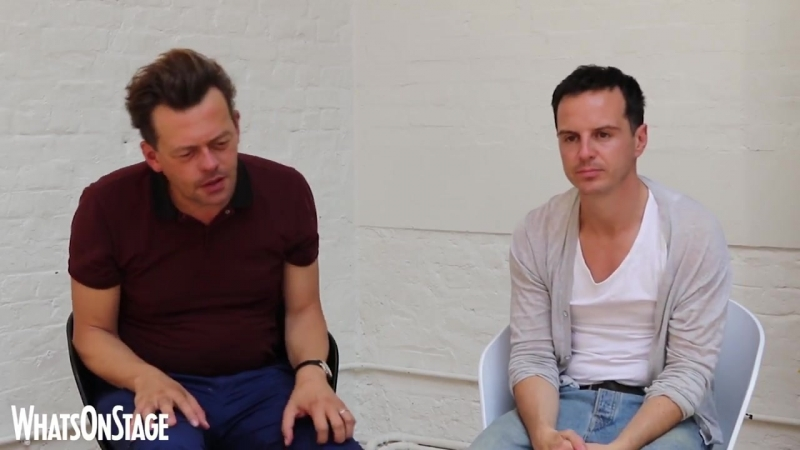 Andrew Scott and Simon Stephens on their mutual admiration