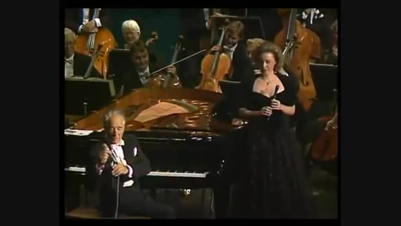 Victor Borge - 80th birthday (English subtitles)