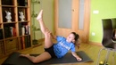 Yoga challenge with my girlfriend at home