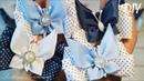 Бабочки из репсовых лент 🦋 Резиночки для волос 🦋