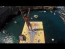 RedBull-пати с прыжками со скал