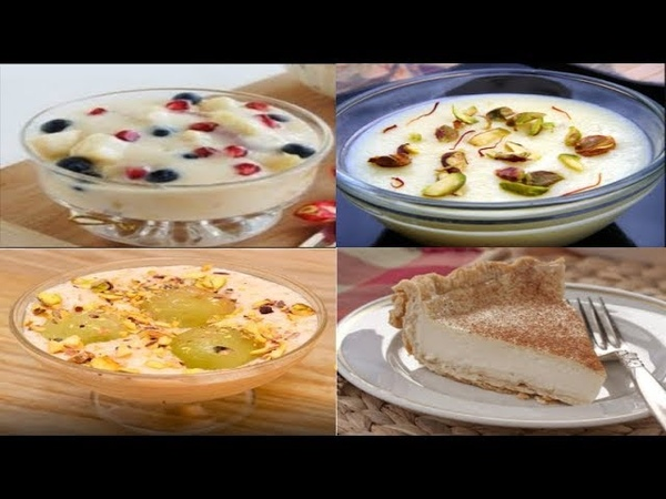 Eid ul Fitr sweet recipes || 4 most popular sweet dishes