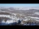 DJI Spark Ski slopes south Ural