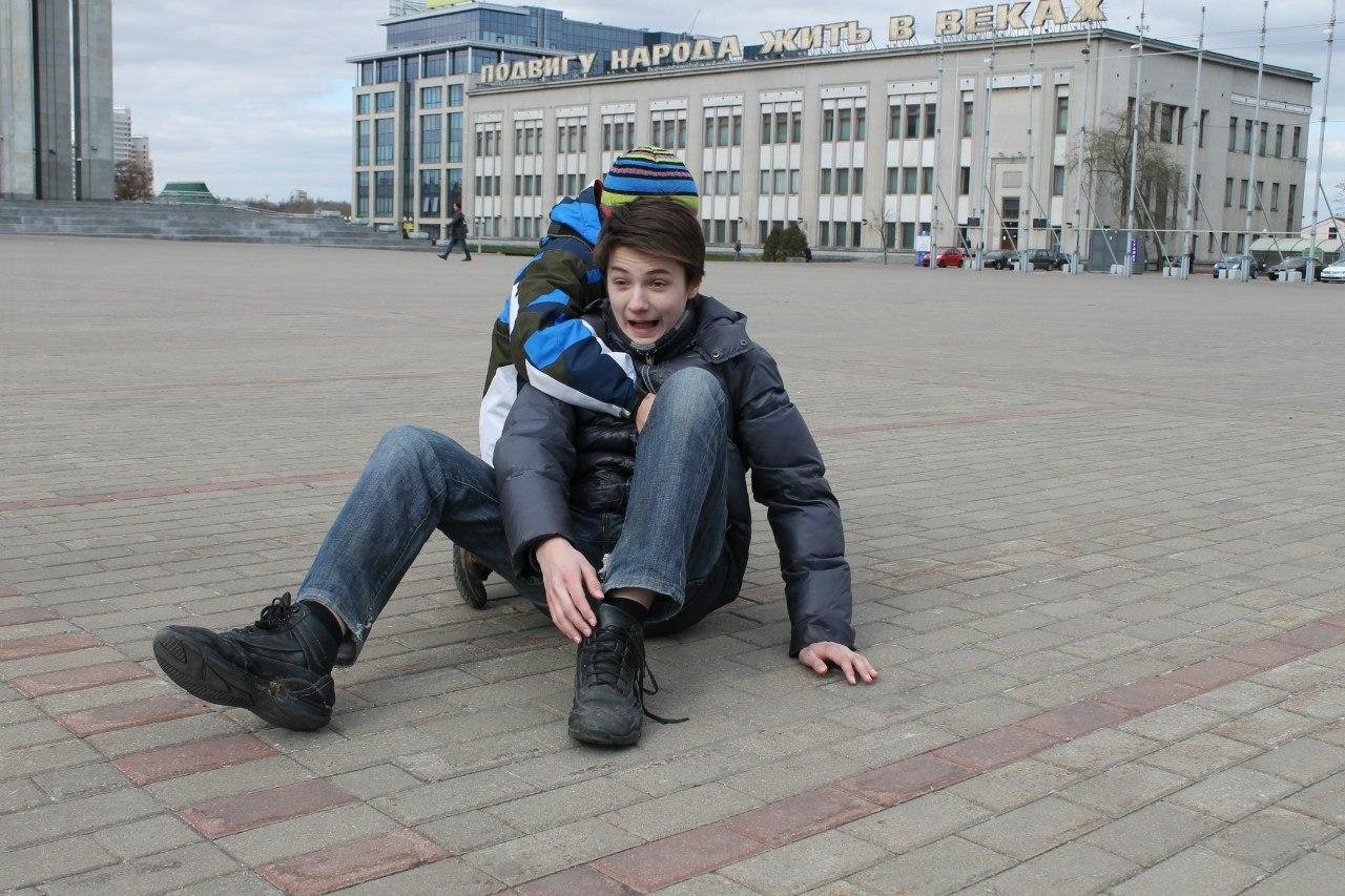 на нулевом километре Беларуси