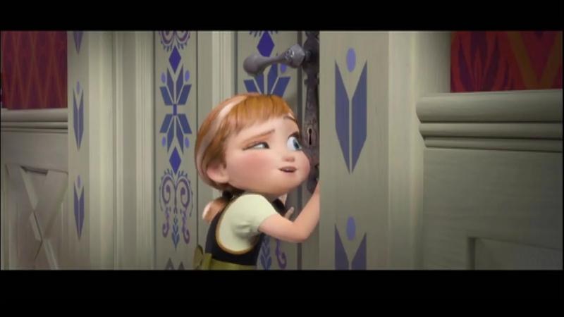 Песня из мультфильма Холодное сердце - За окном опять сугробы