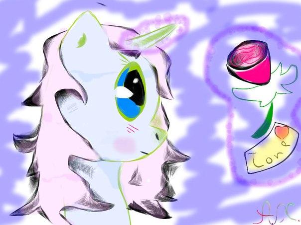рисовать My little pony