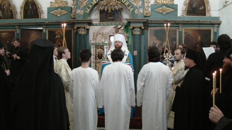 В Ферапонтово состоялся первый за более чем сто лет монашеский постриг