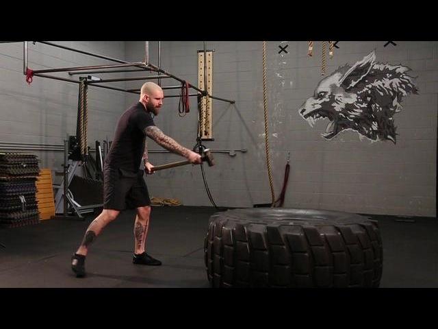 Wolf Brigade - 2 Hand Tire Smash