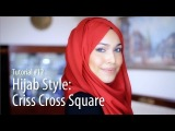 [Adlina Anis] Hijab Tutorial 12 | The Criss Cross Square