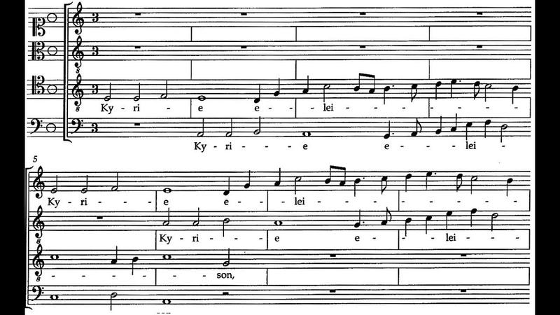 Josquin des Prez Philippe Caillard Vocal Ensemble 1961 Missa Pange Lingua Complete