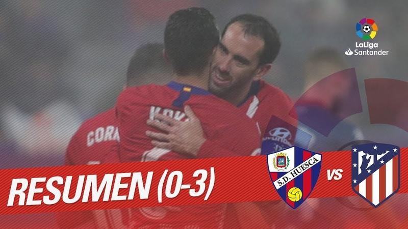 Ла Лига, 20 тур. Уэска 0:3 Атлетико
