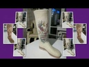 Валяем сапожки на 3D шаблоне. Пошаговый мастер-класс. (Часть 2) Раскладка.