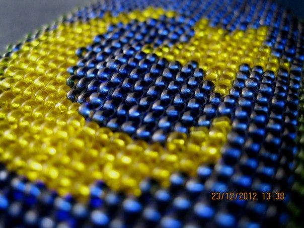 Полумесяц со звездой схема для вышивки
