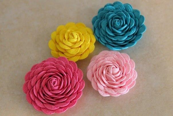 Как сделать тесьму с цветами