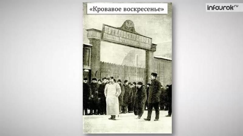 Начало революции 1905-1907 гг.