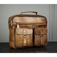 a1a2343befc8 BAG469-2 Мужская винтажная сумка с ремнем через плечо