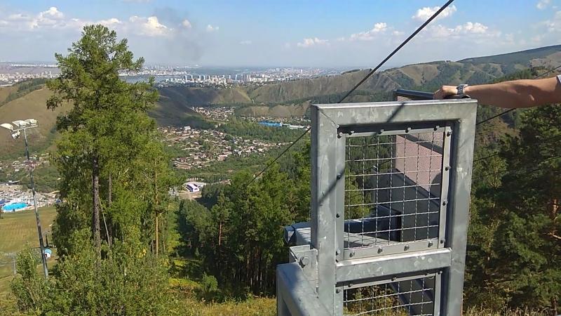 Аттракцион Родельбан, парк Бобровый лог