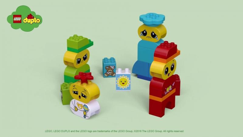 LEGO DUPLO Набор Мои первые эмоции