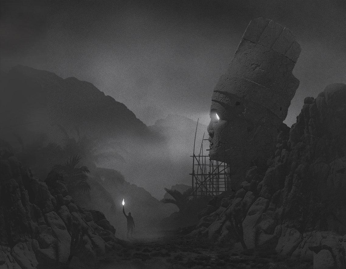 Mysterious Dark Paintings by Dawid Planeta,