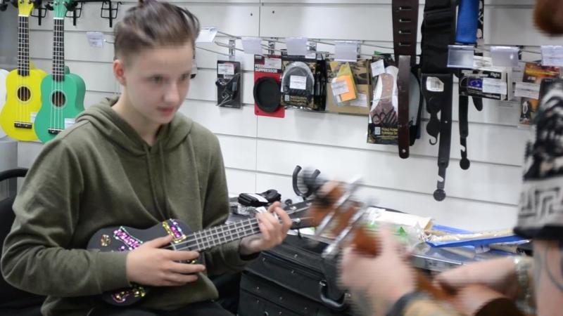 Урок укулеле 1 | Магазин КЛИК
