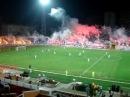 Adanademirspor - Livorno maçında meşaleler yanıyor..