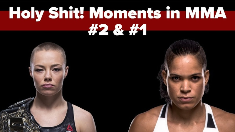 Holy Shit Moments in MMA 2 1 Namajunas and Nunes