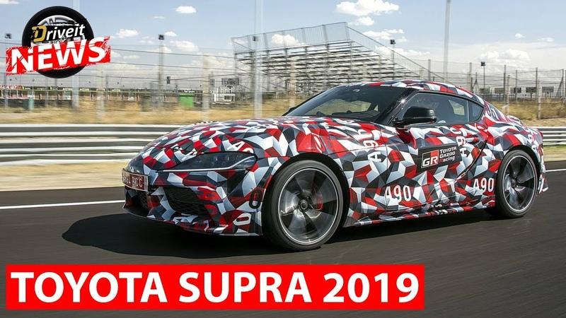 DRIVE IT NEWS: Новая Toyota SUPRA 2019   Белорусы на кубке наций FIA GT   Демонические сани Санты