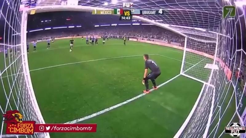 Fernando Muslera'nın Meksika - Uruguay maçı performansı.