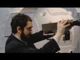Stanley Kubrick On The Set of 2001 A Space Odyssey