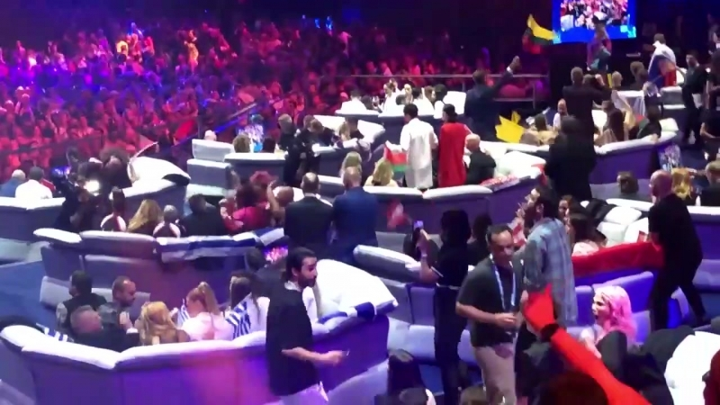 ALEKSEEV / Backstage Green room, Евровидение-2018, Лиссабон (08.05.18)