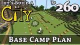How To Build A City Minecraft Base Camp Plan E260