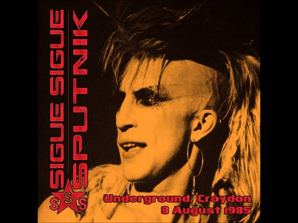 Sigue Sigue Sputnik She's My Man live at Croydon Underground 8 August 1985