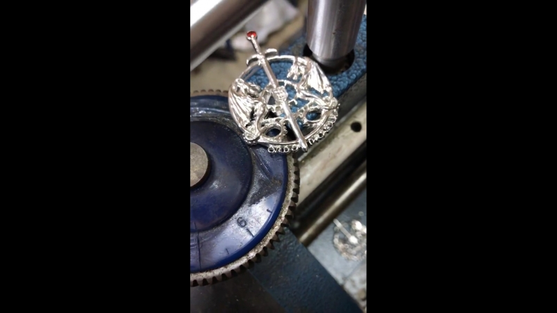 The Ordo Dracul Pendants being crafted by European Artisans!