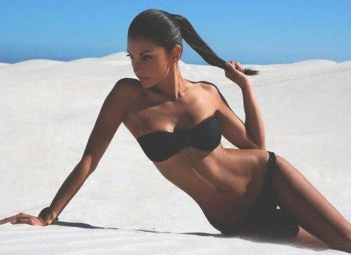 Красивое фото тело девушки